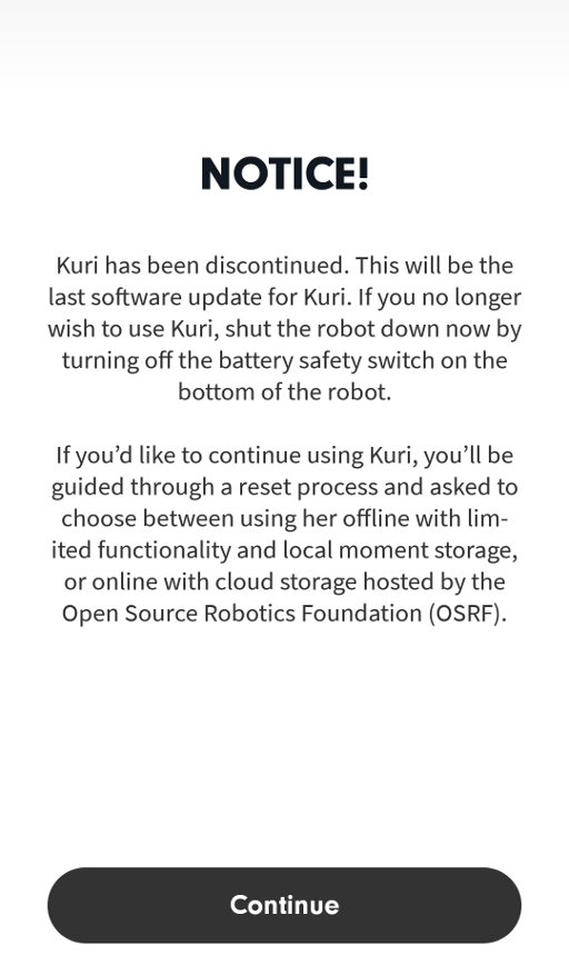 Connecting to Kuri over SSH